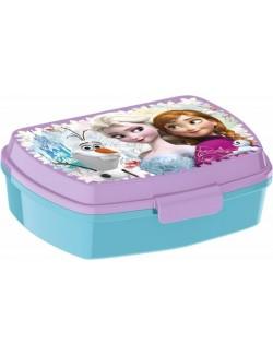 Cutie pranz Frozen Ana, Elsa si Olaf, 16x11x6 cm