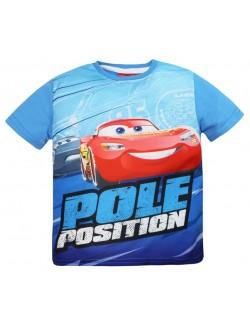 Tricou Disney Cars Pole Position, 3-8 ani