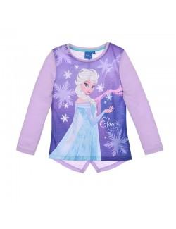 Bluza Elsa Frozen, mov, copii 4-8 ani