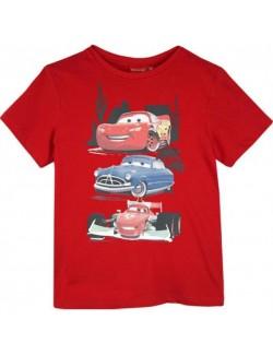 Tricou Disney Cars, 3-8 ani, rosu