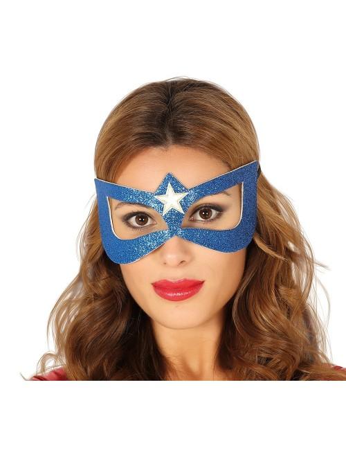 Masca albastra Super-eroina