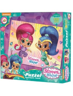 Puzzle Shimmer si Shine, 100 piese