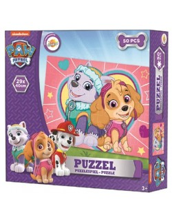 Puzzle Paw patrol, Skye si Everest, 50 piese