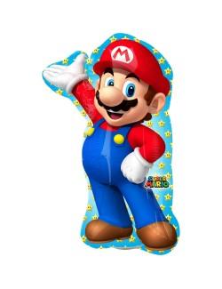 Balon folie Super Mario, 20x30 cm