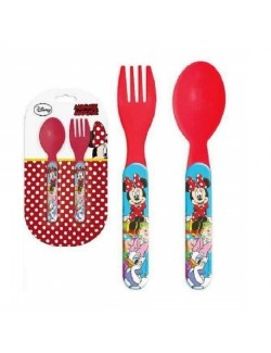 Set 2 tacamuri plastic, Disney Minnie Mouse