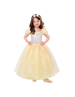 Rochie galbena Printesa Corolle, 3-10 ani