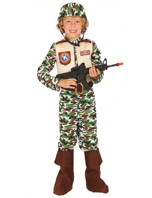 Costum Soldat Fortele speciale, copii 5-12 ani