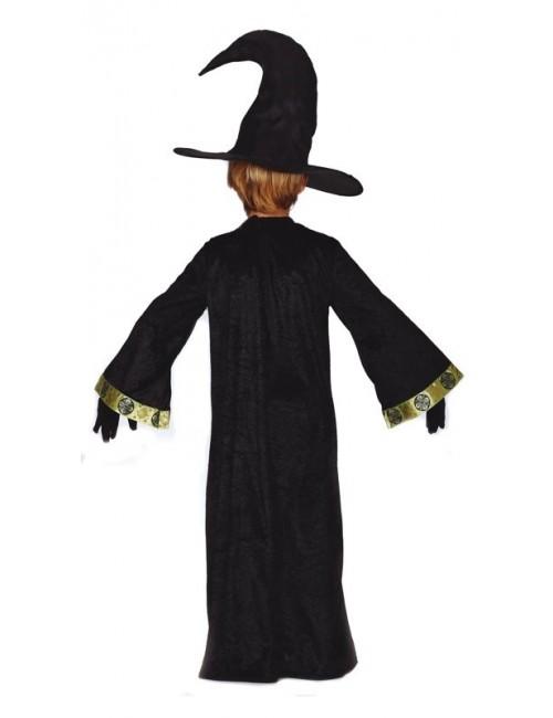 Costum Halloween, Magician / Vrajitor, copii 5-12 ani