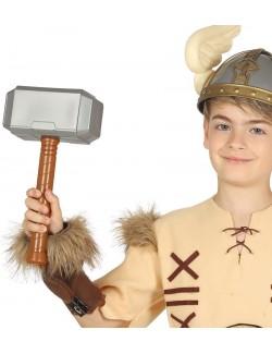 Ciocan viking/ super-erou, 29 cm, pentru copii