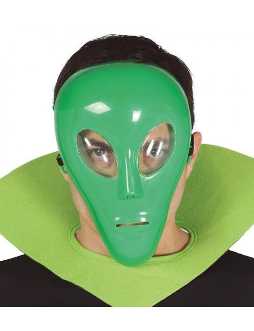 Masca verde Extraterestru - accesoriu carnaval