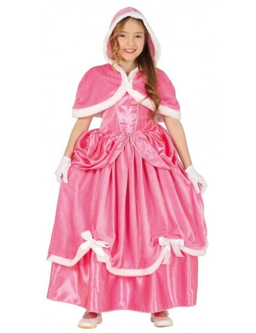 Costum Winter Pink Princess Aurora, 4-9 ani