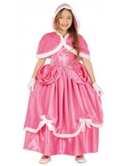 Costum Winter Pink Princess Aurora, 4-9 ani