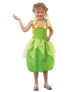 Rochie verde Zana, Green Fairy, copii 5-6 ani