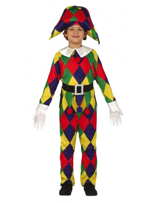 Costum Arlechin, copii 5-12 ani