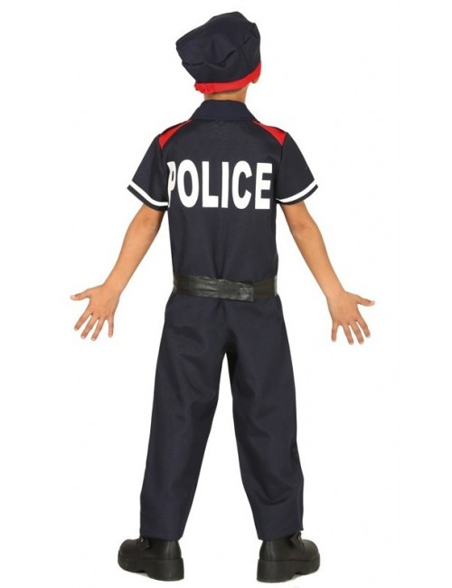 Costum Politist, copii 3-12 ani