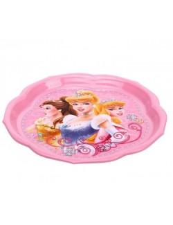 Farfurie plastic Printese Disney, 22 cm