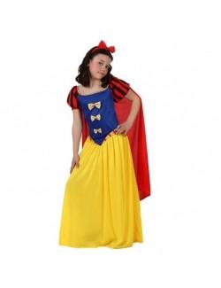 Costum carnaval Printesa din padure, copii 3-12 ani
