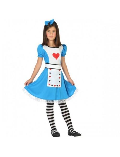 Costum Alice in Wonderland, 5-12 ani