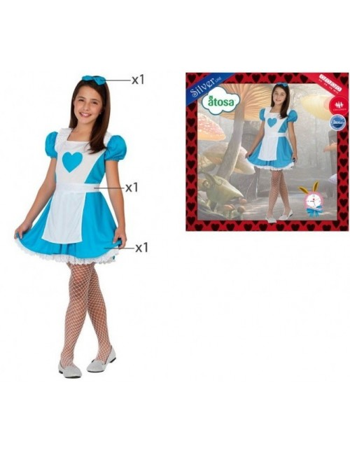 Costum carnaval Alice, 3-4 ani