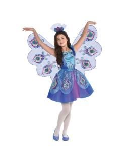 Costum Paunita, pentru copii 4-10 ani