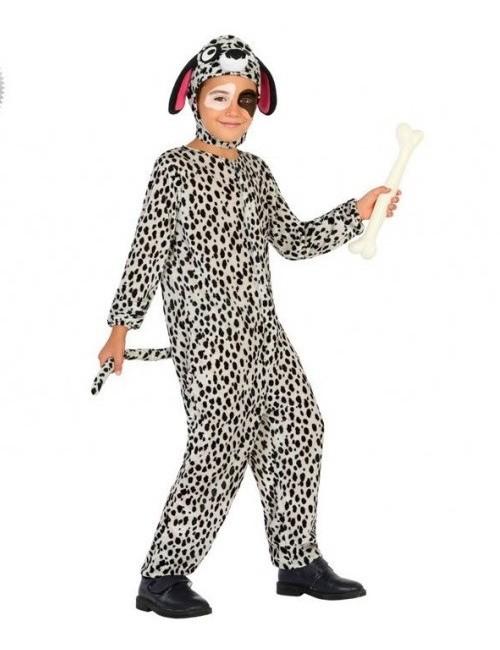 Costum Catel Dalmatian, pentru copii 3-9 ani