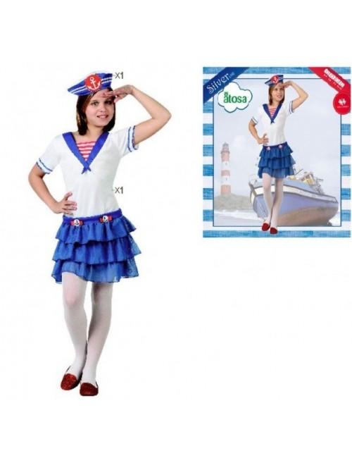 Costum Fetita Marinar, copii 3-6 ani