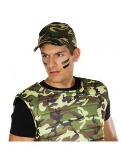 Sapca Army camuflaj, adulti