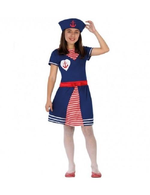 Costum Marinar, fete 3-12 ani