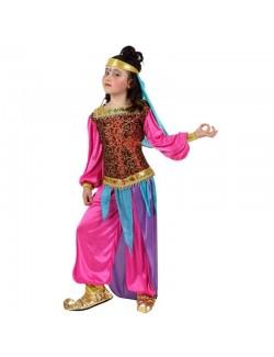 Costum Dansatoare araba/ Turcoaica, 5-12 ani