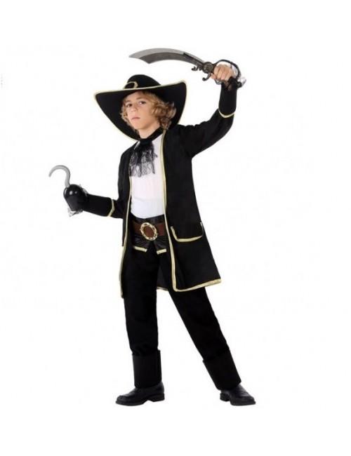 Costum Capitan de Pirati, baieti 3-12 ani