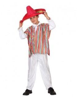 Costum Mexican, baieti 3-12 ani