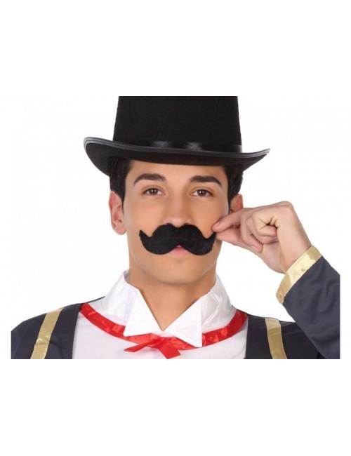 Mustata bavareza neagra - accesoriu carnaval