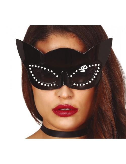 Ochelari Pisica neagra - accesoriu Halloween