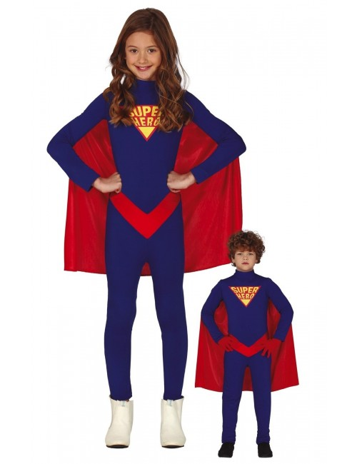 Costum Super-Hero, unisex, copii 5-12 ani