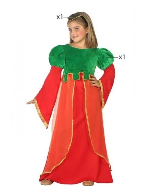 Costum Printesa medievala, copii 3-12 ani