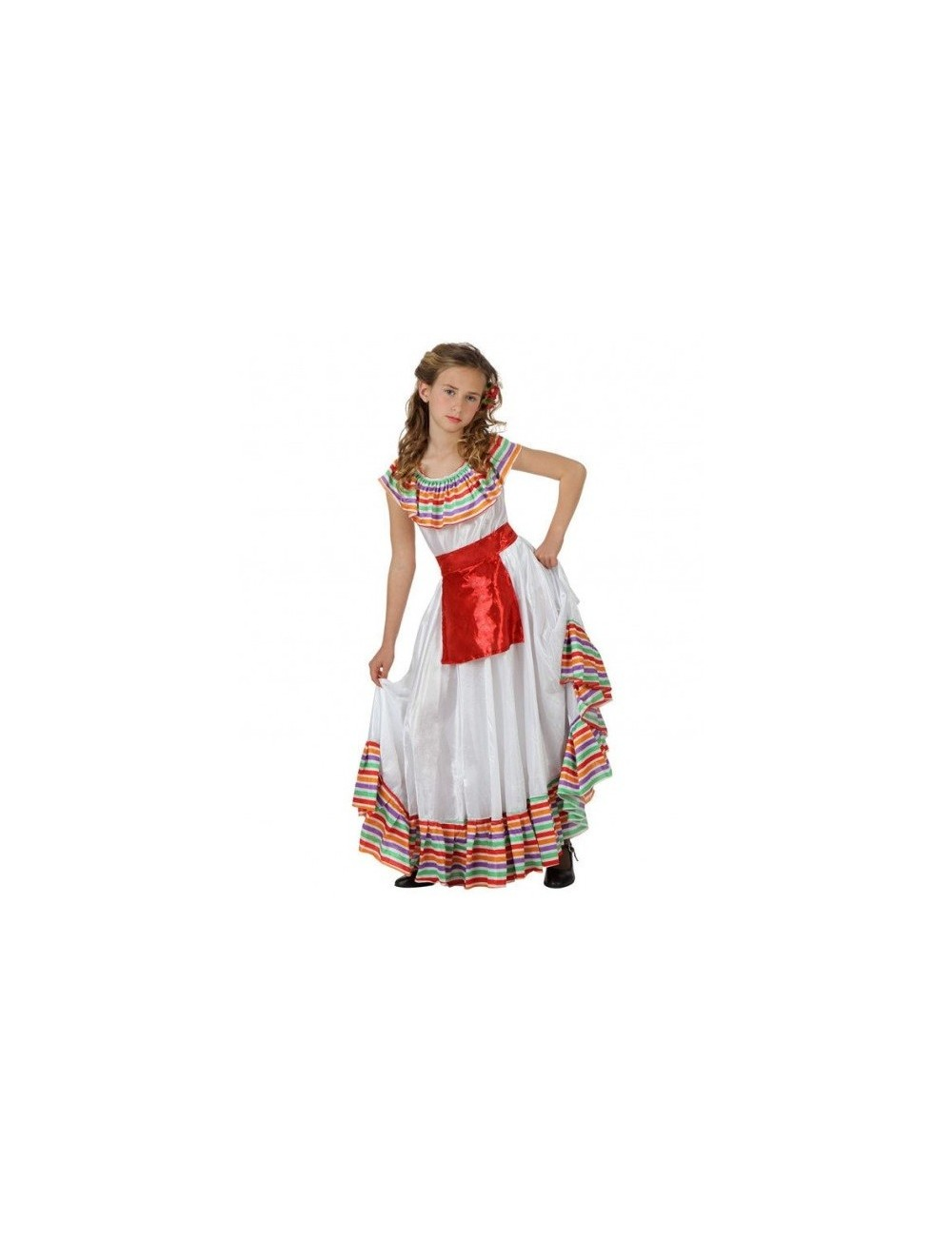 Costum Fetita Mexicana, 3/4 si 10/12 ani