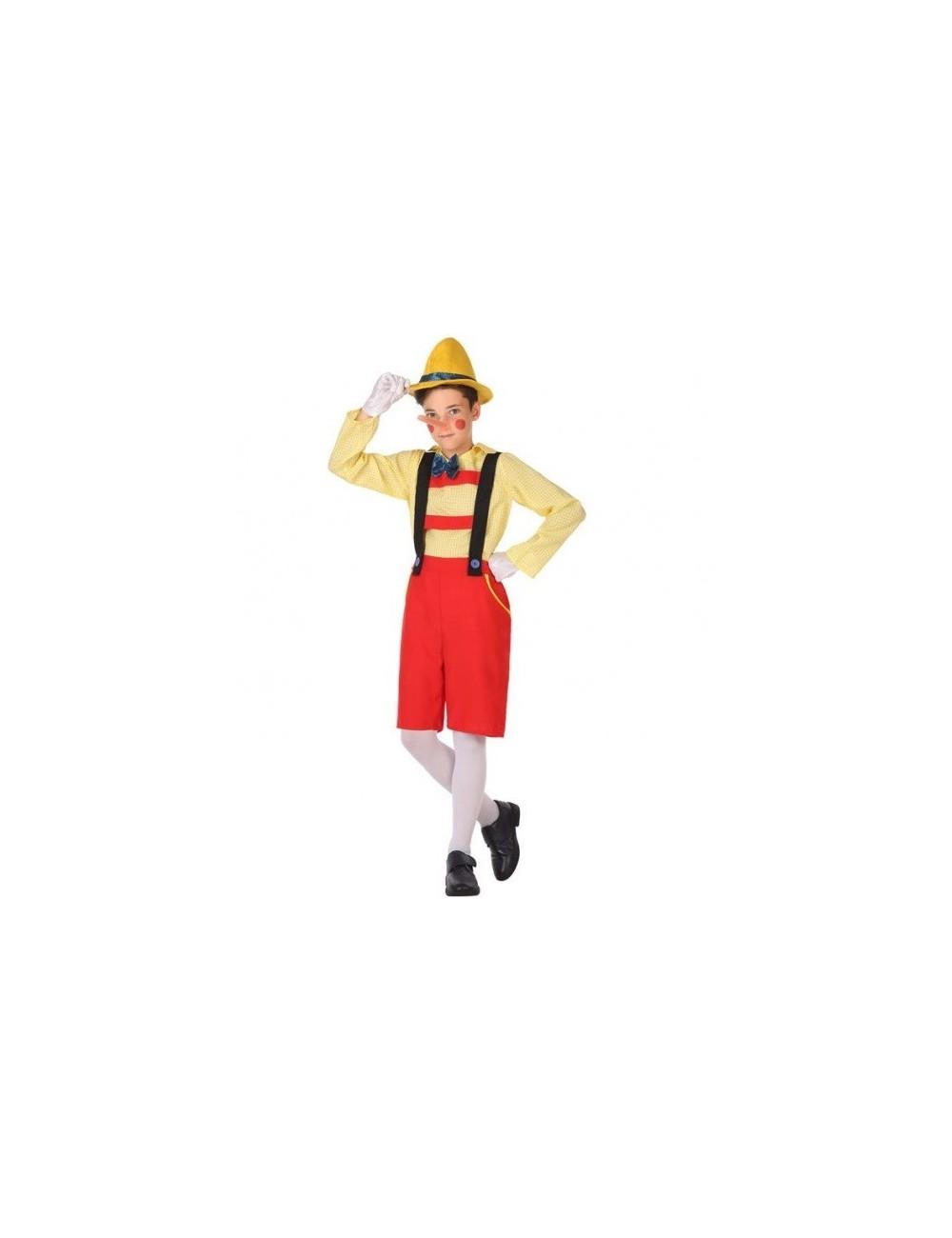 Costum Pinocchio, copii 3-6 ani
