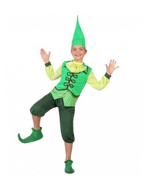 Costum Elf / Spiridus, baieti 5-6 ani