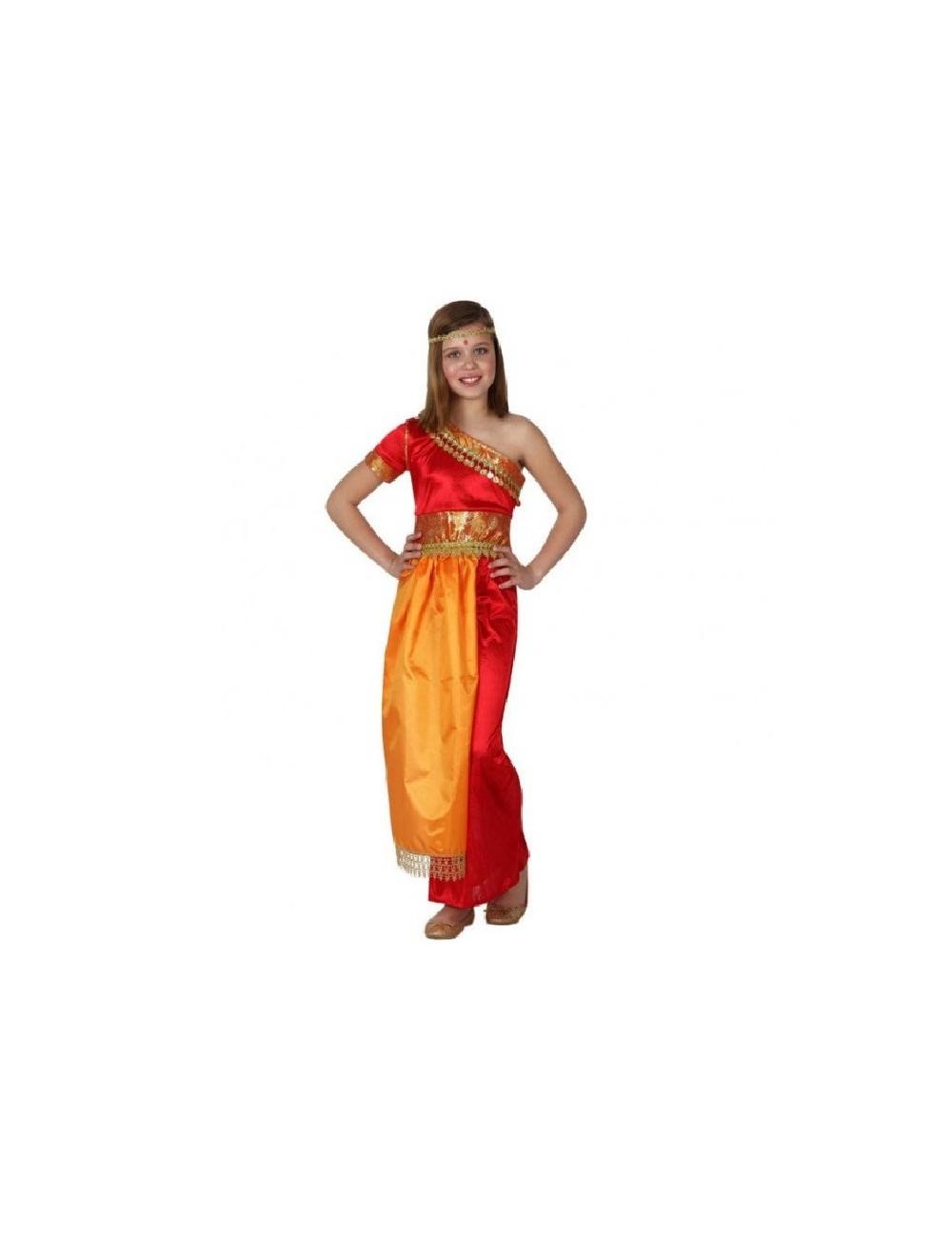Costum fetita indiana, 3-6 ani