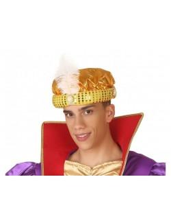 Turban auriu Sultan