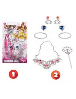 Set bijuterii Glitzy Girl - accesorii carnaval