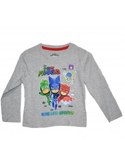 Bluza Eroi in pijamale, gri, copii 3-4 ani