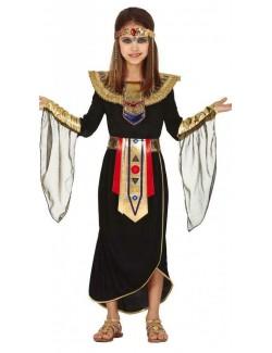 Costum Cleopatra / Zeita egipteana, copii 5-12 ani