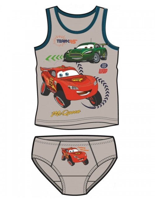 Set maiou si chiloti Disney Cars, copii 3 si 6 ani