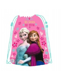 Sac umar / gimnastica, Disney Frozen, 43*34 cm