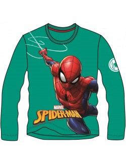 Bluza Spiderman, verde, copii 2-7 ani