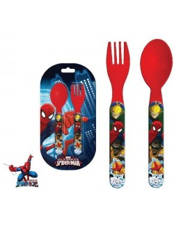 Set 2 tacamuri plastic, Spiderman