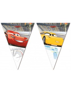 Ghirlanda decor, Disney Cars, 230 cm