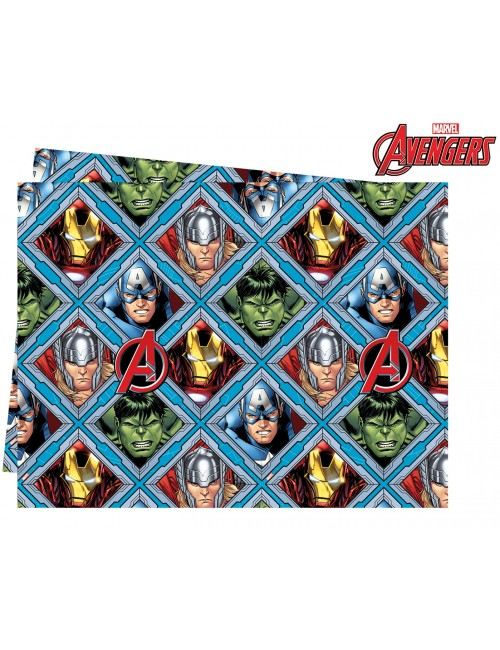 Fata de masa Avengers, plastic, 120 x 180 cm