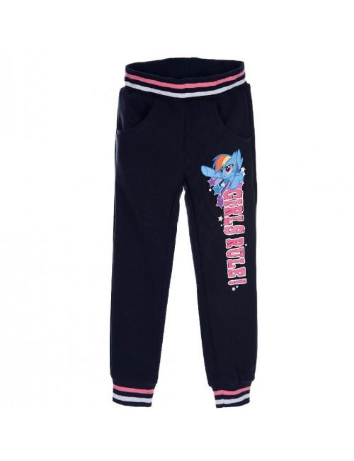 Pantaloni sport My Little Pony, bleumarin, 3-8 ani